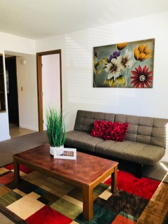 Rent In Rolla - Apartment Living Room
